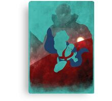 Justice: The Martian Minimalist Comics Justice League of America Canvas Print