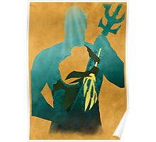 Justice: the Atlantean Minimalist Comics Justice League of America Poster