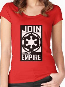 Join GALACTIC EMPIRE Women's Fitted Scoop T-Shirt