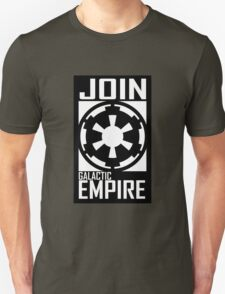 Join GALACTIC EMPIRE Unisex T-Shirt