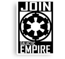 Join GALACTIC EMPIRE Canvas Print