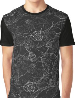 Bat Attack Graphic T-Shirt