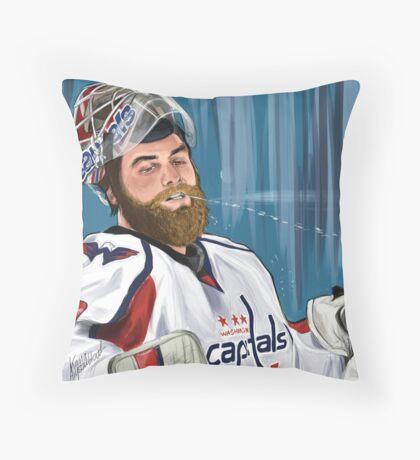 Braden Holtby Throw Pillow