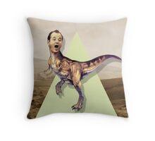 Bill Murray TRex Throw Pillow
