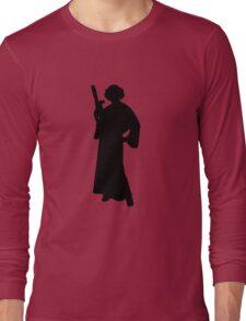 Star Wars Princess Leia Black Long Sleeve T-Shirt