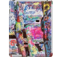Cadillac Ranch Afternoon Painterly iPad Case/Skin