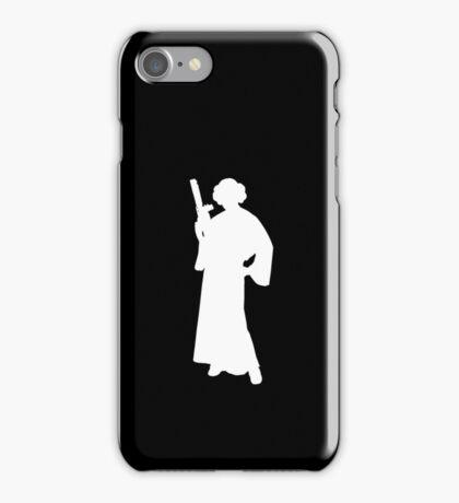 Star Wars Princess Leia White iPhone Case/Skin