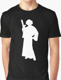 Star Wars Princess Leia White Graphic T-Shirt