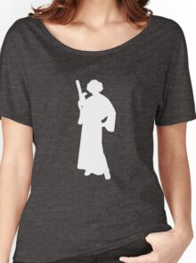 Star Wars Princess Leia White Women's Relaxed Fit T-Shirt