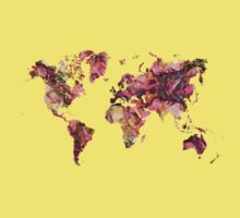 World Map 2033 Kids Tee