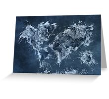 World Map 2031 Greeting Card