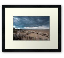 St Annes Sand Dunes Framed Print