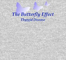 Butterfly Effect - Thyroid Disease Women's Fitted Scoop T-Shirt