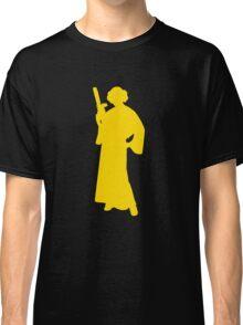Star Wars Princess Leia Yellow Classic T-Shirt