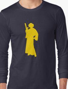 Star Wars Princess Leia Yellow Long Sleeve T-Shirt