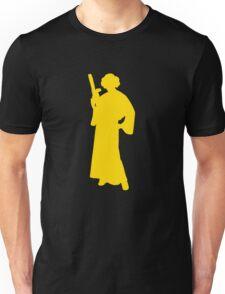 Star Wars Princess Leia Yellow Unisex T-Shirt