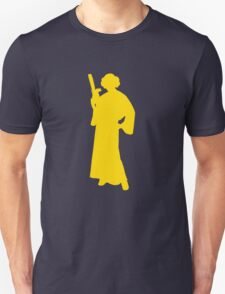 Star Wars Princess Leia Yellow Unisex T-Shirt