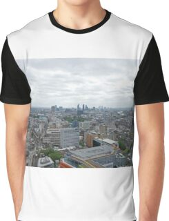 A view across London from centrepoint Graphic T-Shirt