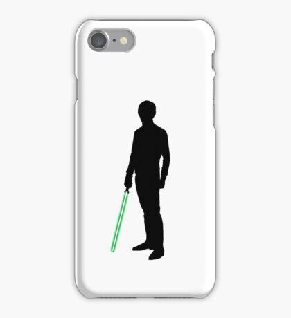 Star Wars Luke Skywalker Black iPhone Case/Skin