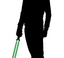 Star Wars Luke Skywalker Black by fn2187