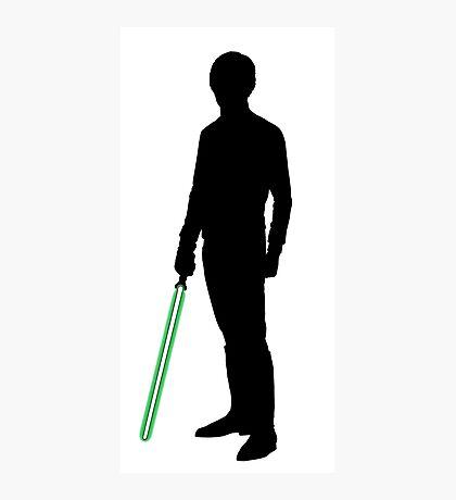 Star Wars Luke Skywalker Black Photographic Print