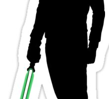 Star Wars Luke Skywalker Black Sticker