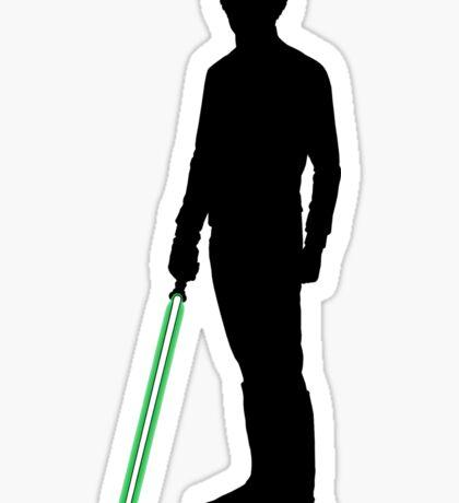 Star Wars Luke Skywalker Black Sticker
