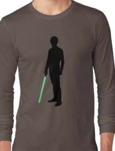 Star Wars Luke Skywalker Black Long Sleeve T-Shirt