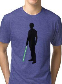Star Wars Luke Skywalker Black Tri-blend T-Shirt