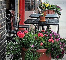 Sidewalk Cafe by CarolM