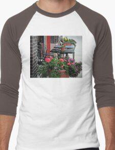 Sidewalk Cafe Men's Baseball ¾ T-Shirt