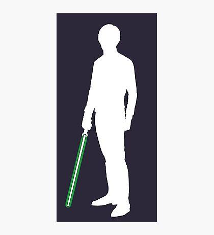 Star Wars Luke Skywalker White Photographic Print