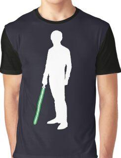 Star Wars Luke Skywalker White Graphic T-Shirt
