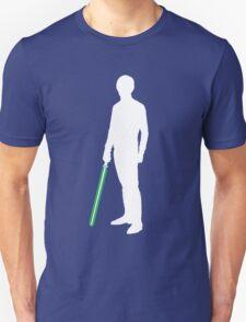 Star Wars Luke Skywalker White Unisex T-Shirt