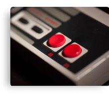 NES Controller Art Photograph Canvas Print