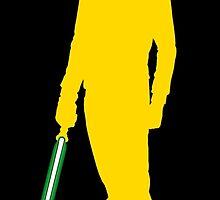 Star Wars Luke Skywalker Yellow by fn2187