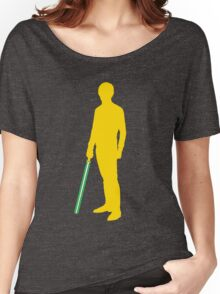 Star Wars Luke Skywalker Yellow Women's Relaxed Fit T-Shirt