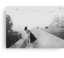 into nothingness Canvas Print