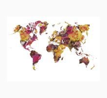 World Map 2045 Kids Tee