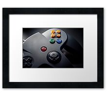 N64 fine Art Photograph Framed Print