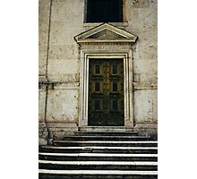 Santa Maria Door Photographic Print