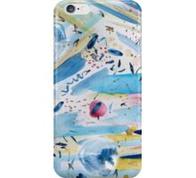 Watercolor hand paint abstract art iPhone Case/Skin