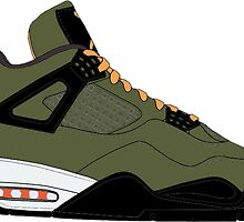 "Air Jordan IV (4) ""Undefeated"" by gaeldesmarais"