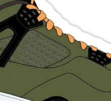 "Air Jordan IV (4) ""Undefeated"" Sticker"