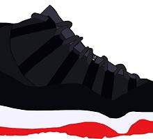 "Air Jordan XI (11) ""Bred"" by gaeldesmarais"
