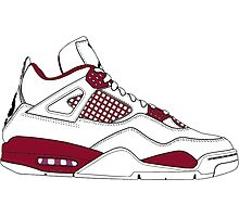 "Air Jordan IV (4) ""Alternate 89"" Photographic Print"