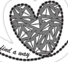 Love Will Find a Way - Paperman Sticker