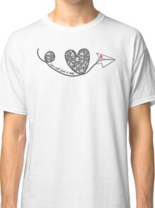 Love Will Find a Way - Paperman Classic T-Shirt
