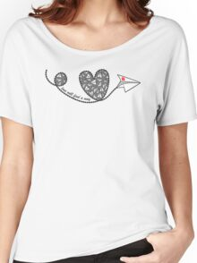 Love Will Find a Way - Paperman Women's Relaxed Fit T-Shirt