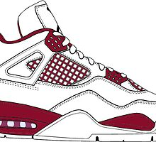 "Air Jordan IV (4) ""Alternate 89"" by gaeldesmarais"